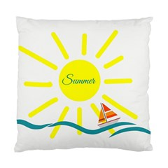 Summer Beach Holiday Holidays Sun Standard Cushion Case (two Sides) by BangZart