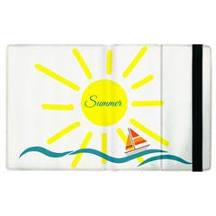 Summer Beach Holiday Holidays Sun Apple Ipad 2 Flip Case