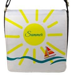 Summer Beach Holiday Holidays Sun Flap Messenger Bag (s) by BangZart