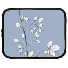 Branch Leaves Branches Plant Netbook Case (large) by BangZart