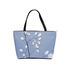 Branch Leaves Branches Plant Shoulder Handbags by BangZart