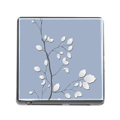 Branch Leaves Branches Plant Memory Card Reader (square) by BangZart