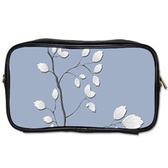 Branch Leaves Branches Plant Toiletries Bags 2 Side by BangZart