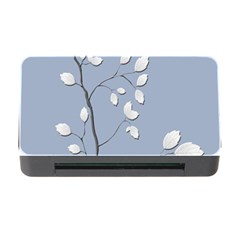 Branch Leaves Branches Plant Memory Card Reader With Cf