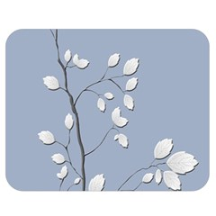 Branch Leaves Branches Plant Double Sided Flano Blanket (medium)  by BangZart