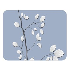 Branch Leaves Branches Plant Double Sided Flano Blanket (large)
