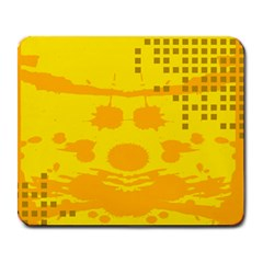 Texture Yellow Abstract Background Large Mousepads by BangZart
