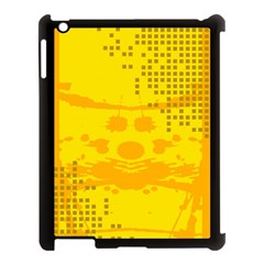Texture Yellow Abstract Background Apple Ipad 3/4 Case (black)