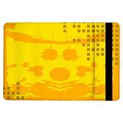 Texture Yellow Abstract Background Ipad Air Flip by BangZart