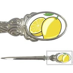 Lemon Fruit Green Yellow Citrus Letter Openers