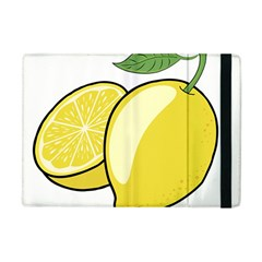 Lemon Fruit Green Yellow Citrus Apple Ipad Mini Flip Case