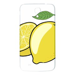 Lemon Fruit Green Yellow Citrus Samsung Galaxy Mega I9200 Hardshell Back Case