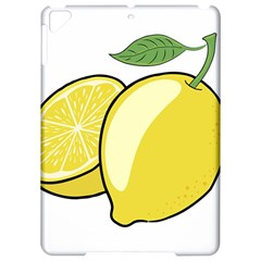 Lemon Fruit Green Yellow Citrus Apple Ipad Pro 9 7   Hardshell Case by BangZart