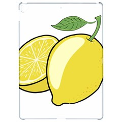 Lemon Fruit Green Yellow Citrus Apple Ipad Pro 12 9   Hardshell Case by BangZart