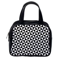 Triangle Pattern Simple Triangular Classic Handbags (one Side)
