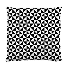 Triangle Pattern Simple Triangular Standard Cushion Case (two Sides)
