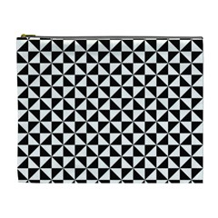 Triangle Pattern Simple Triangular Cosmetic Bag (xl)