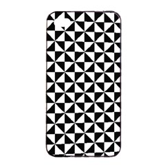 Triangle Pattern Simple Triangular Apple Iphone 4/4s Seamless Case (black) by BangZart