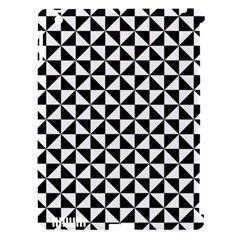 Triangle Pattern Simple Triangular Apple Ipad 3/4 Hardshell Case (compatible With Smart Cover)