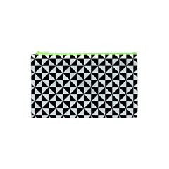 Triangle Pattern Simple Triangular Cosmetic Bag (xs)