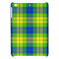 Spring Plaid Yellow Blue And Green Apple Ipad Mini Hardshell Case by BangZart