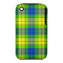 Spring Plaid Yellow Blue And Green Iphone 3s/3gs