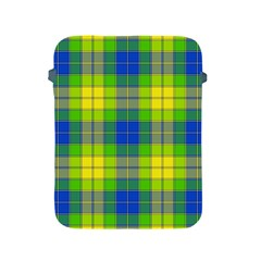 Spring Plaid Yellow Blue And Green Apple Ipad 2/3/4 Protective Soft Cases