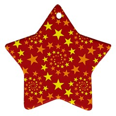 Star Stars Pattern Design Ornament (star)