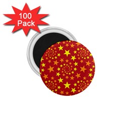 Star Stars Pattern Design 1 75  Magnets (100 Pack)  by BangZart