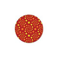 Star Stars Pattern Design Golf Ball Marker (4 Pack) by BangZart