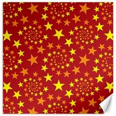 Star Stars Pattern Design Canvas 12  X 12   by BangZart