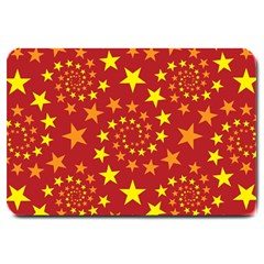 Star Stars Pattern Design Large Doormat