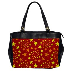 Star Stars Pattern Design Office Handbags