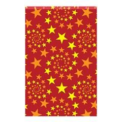 Star Stars Pattern Design Shower Curtain 48  X 72  (small)
