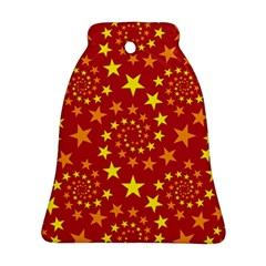 Star Stars Pattern Design Ornament (bell)