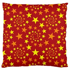Star Stars Pattern Design Large Cushion Case (two Sides) by BangZart