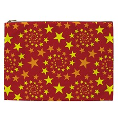 Star Stars Pattern Design Cosmetic Bag (xxl)
