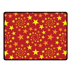 Star Stars Pattern Design Double Sided Fleece Blanket (small)  by BangZart