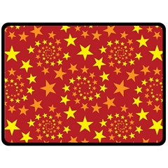 Star Stars Pattern Design Double Sided Fleece Blanket (large)  by BangZart