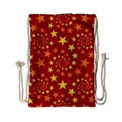 Star Stars Pattern Design Drawstring Bag (small) by BangZart