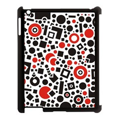 Square Objects Future Modern Apple Ipad 3/4 Case (black)