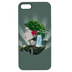 Digital Nature Beauty Apple Iphone 5 Hardshell Case With Stand