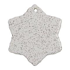 Pattern Star Pattern Star Ornament (snowflake)