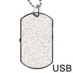 Pattern Star Pattern Star Dog Tag Usb Flash (one Side)