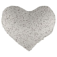 Pattern Star Pattern Star Large 19  Premium Heart Shape Cushions by BangZart