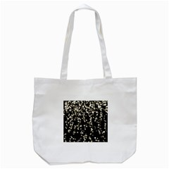 Christmas Bokeh Lights Background Tote Bag (white)