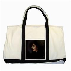 Vampire Woman Vampire Lady Two Tone Tote Bag