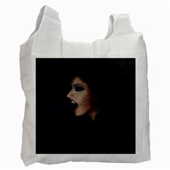 Vampire Woman Vampire Lady Recycle Bag (two Side)
