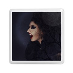 Vampire Woman Vampire Lady Memory Card Reader (square)