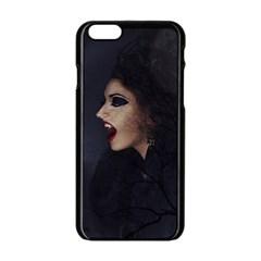 Vampire Woman Vampire Lady Apple Iphone 6/6s Black Enamel Case